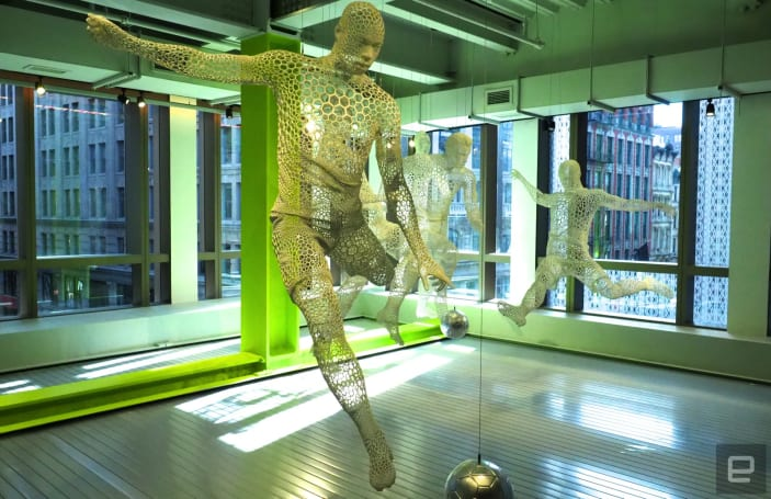 Nike's new store in New York City is loaded with tech