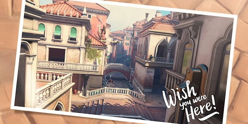 New 'Overwatch' map brings the battle to Italy's canals
