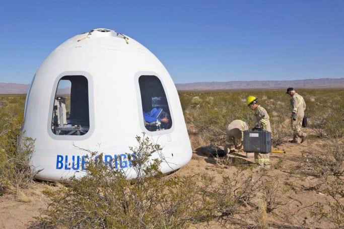 Blue Origin tests Crew Capsule 2.0 with  'biggest windows in space'