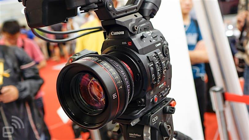 4K 录影上身的 Canon EOS C300 Mark II 降临台湾(动手玩)