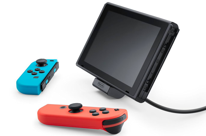 Nintendo is making a $20 charging stand for the Switch