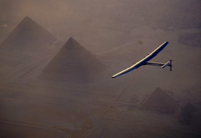Solar Impulse 2 由开罗启程,即将完成环游世界的最后一段路(更新:完成了!)