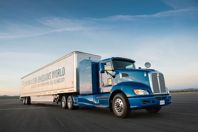 Toyota's fuel-cell big rigs are ready to haul cargo
