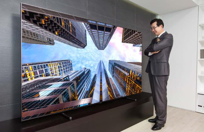 Samsung's giant 4K QLED TV costs $20,000