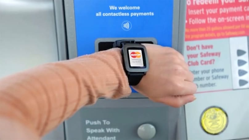 Smart strap brings payments to your Pebble smartwatch
