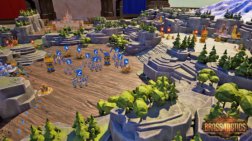 'Brass Tactics' is a VR RTS that puts you in a clockwork battlefield