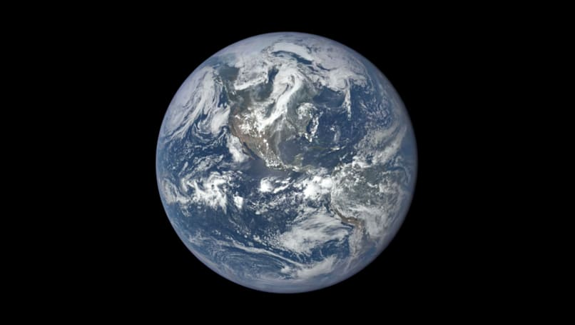 NASA releases a year-long look at the sunlit face of the Earth
