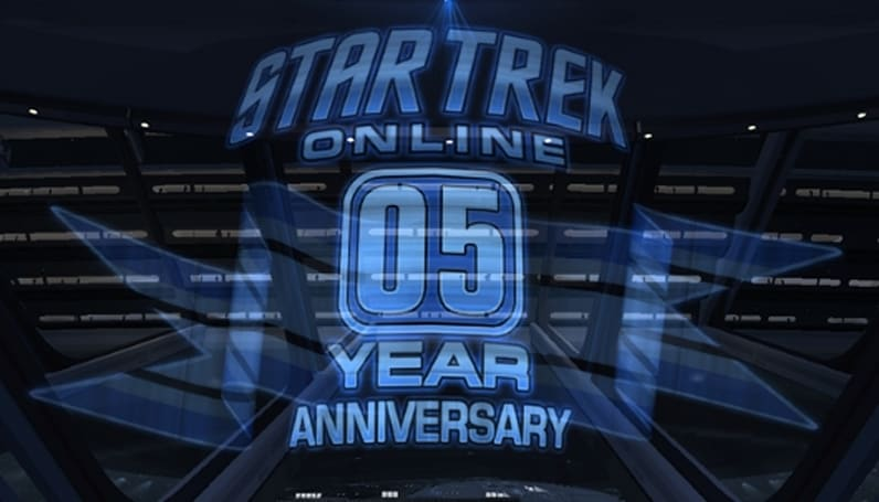 Star Trek Online starts its fifth anniversary celebration