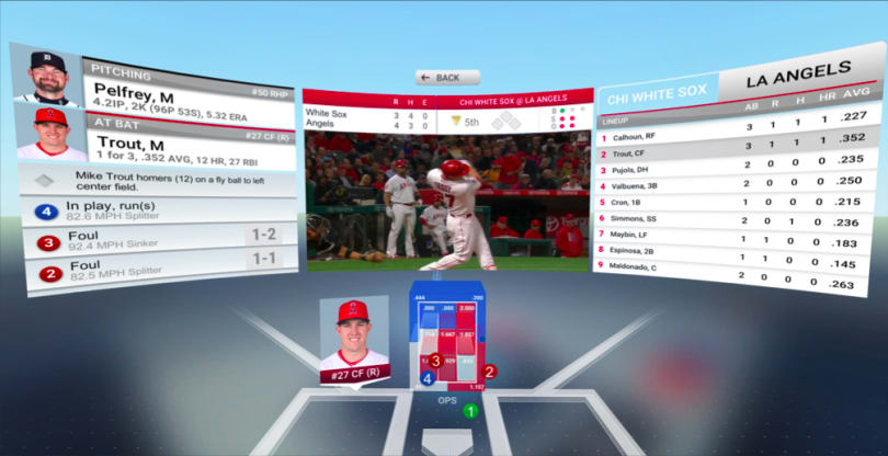 MLB's VR push doesn't include 360-degree live games