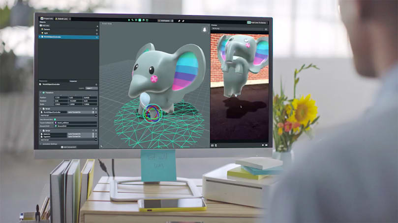 Snapchat's Lens Studio helps create your own AR effects