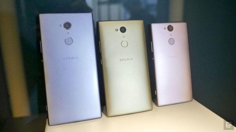 索尼在台湾发布 XA2、XA2 Ultra 及 L2 三款 CES 新机(更新:国行 Ultra 价格)