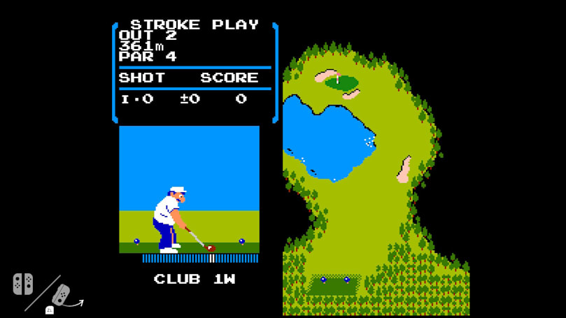Nintendo's Switch is secretly hiding a copy of NES 'Golf'