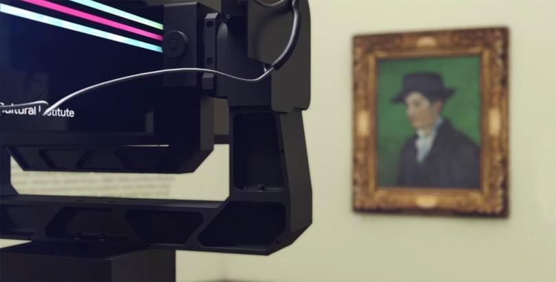 Google's gigapixel Art Camera captures the subtle details