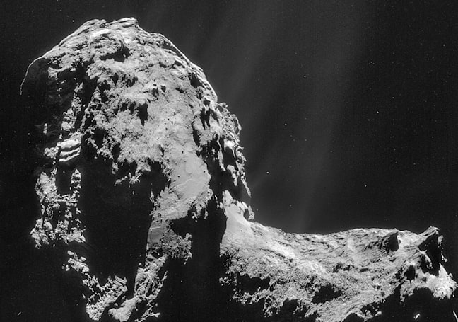 Rosetta data puts the origin of Earth's water in doubt