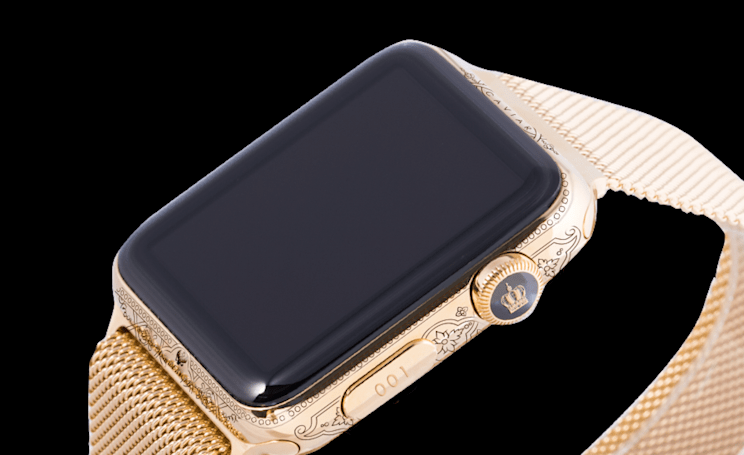 Custom $3,100 Apple Watch celebrates famed Russian leaders