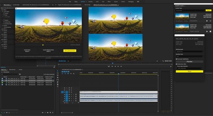 Adobe Premiere 能更简易地处理 Insta360 Pro 的 8K 360 度视频了
