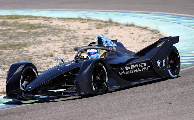 BMW will unveil its Formula E racer next week