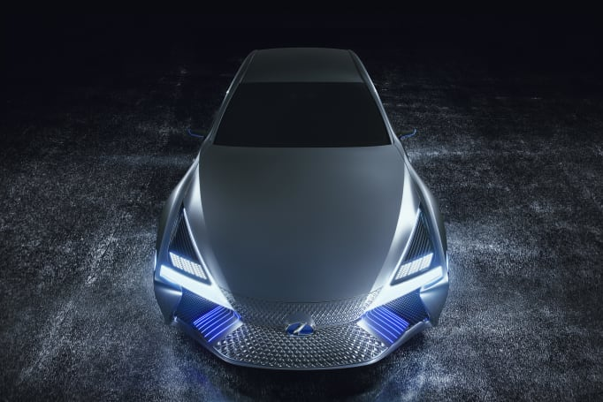 Lexus LS+ Concept previews automated driving technology for 2020
