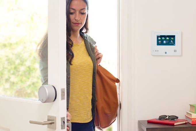 August's smart lock links up with Protect America's security systems