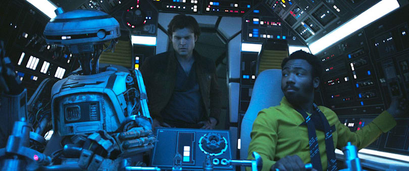 'Solo' is Star Wars' toothless confrontation of robot rights