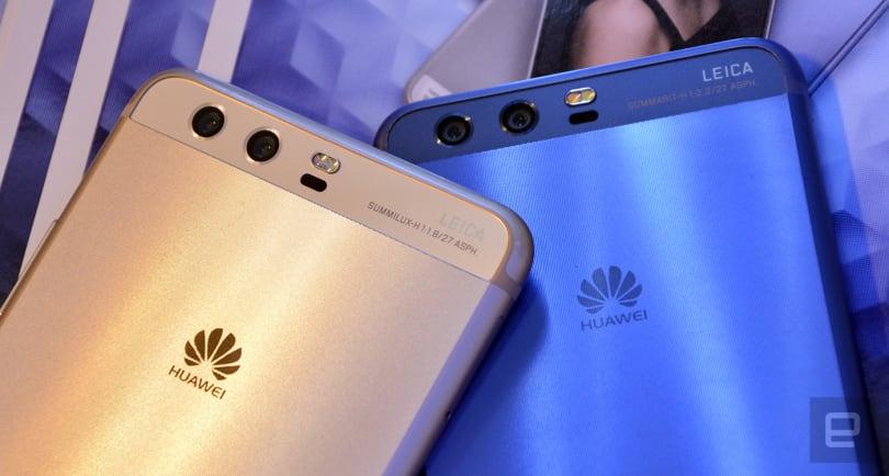 Huawei blames slower P10s on memory shortage
