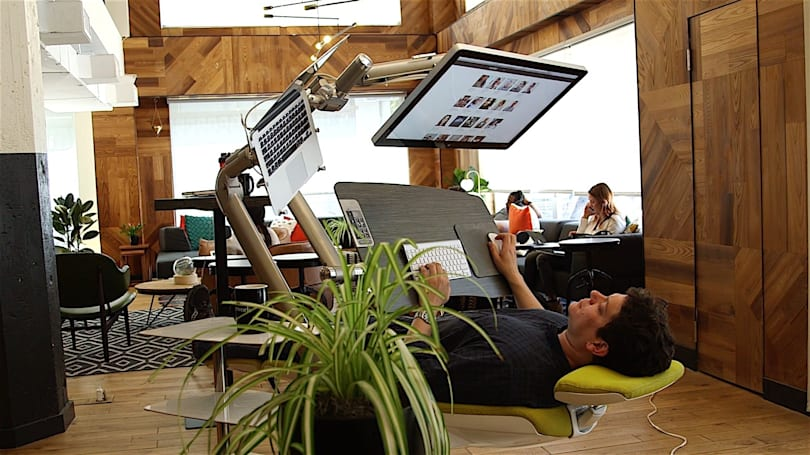 The 'Station' desk cradles your body and gut-punches your wallet