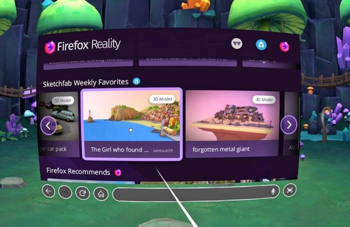 Firefox Reality 正式上线了