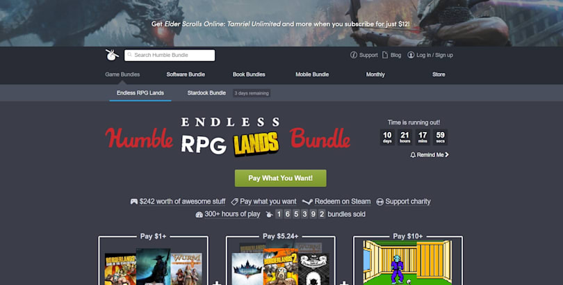 IGN acquires pay-what-you-want game and book retailer Humble Bundle