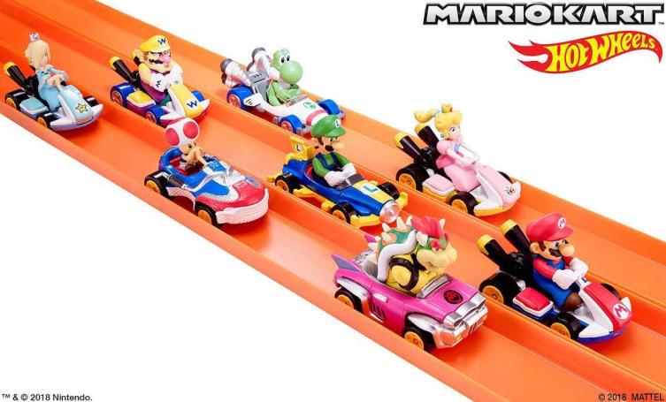 《马里奥赛车》主题的 Hot Wheels 小车明年夏天登场
