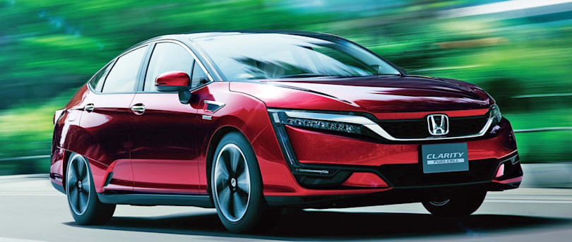 Honda's hydrogen-powered Clarity goes on sale in Japan