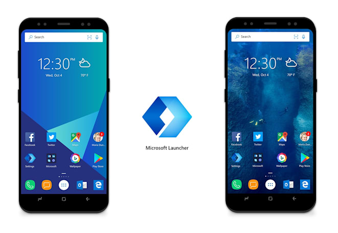 Microsoft Launcher offers 'Continue on PC' option for Android phones