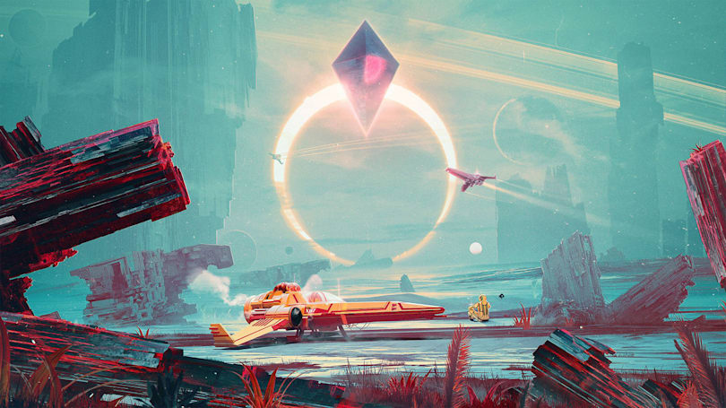 E3's video game art picks include 'No Man's Sky' and 'Witcher 3'