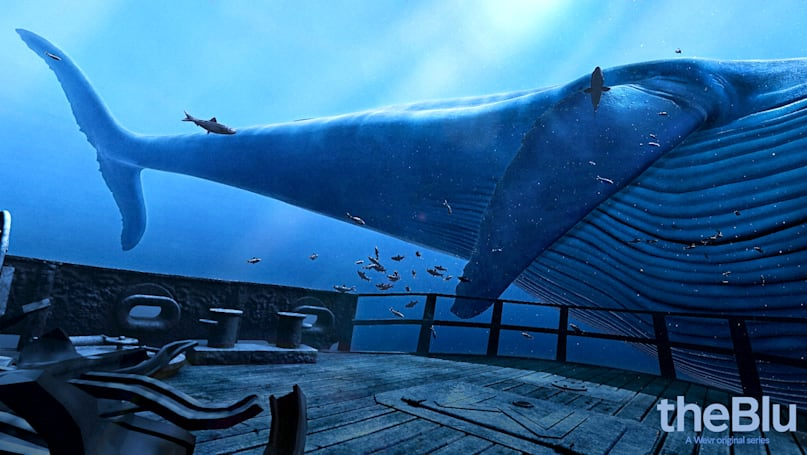 Got an HTC Vive? Now's your chance to swim with a blue whale.