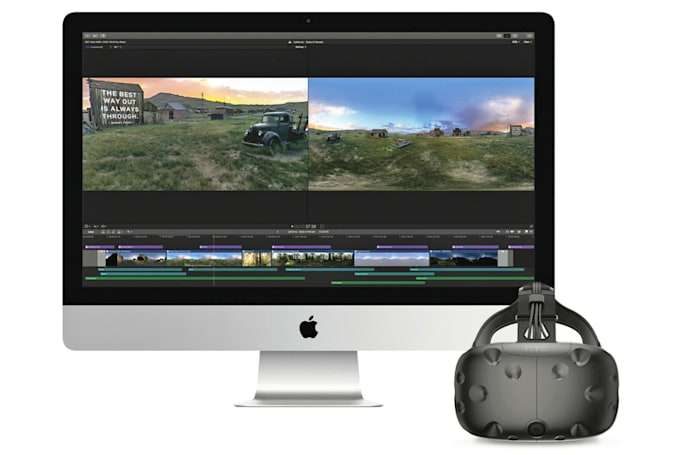 Apple Final Cut Pro X is ready to edit VR video