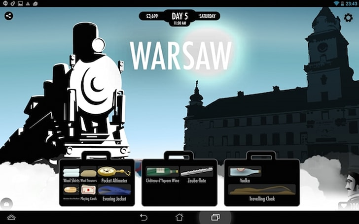 80 Days takes a trip to Android, adds arctic route to itinerary