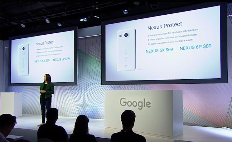 Nexus Protect is Google's answer to AppleCare