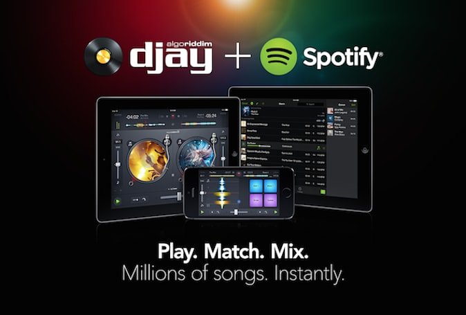 Djay 2 for iOS gets 20 million song update via Spotify