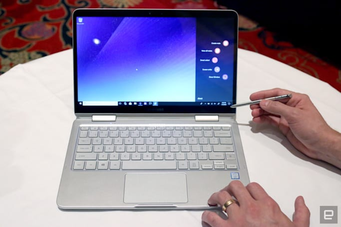 三星的 Notebook 9 Pen 是 Galaxy Note 和笔记本的结合体