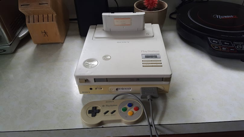 This is the Nintendo PlayStation that almost was