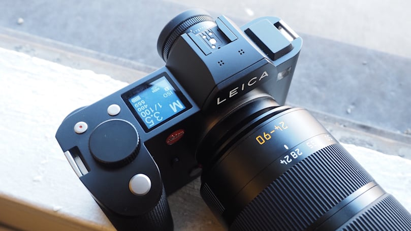 Leica's SL full-frame camera features an impressive high-res EVF