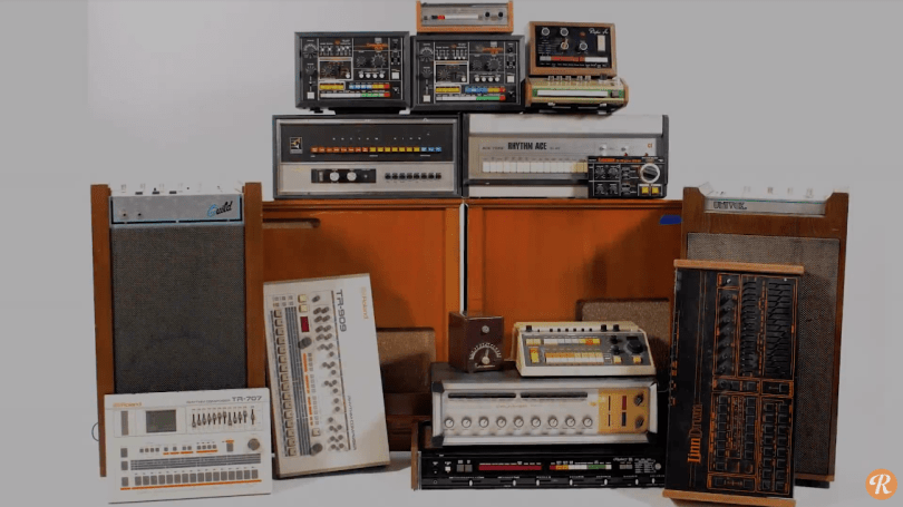 Moby is selling his vintage drum machine collection for charity