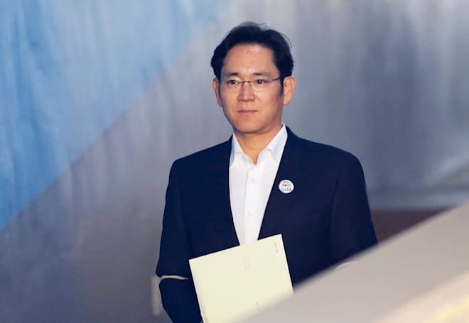 Disgraced Samsung boss walks free from prison