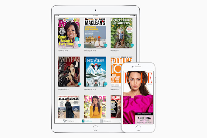 Apple buys Texture, the 'Netflix of magazine plans'
