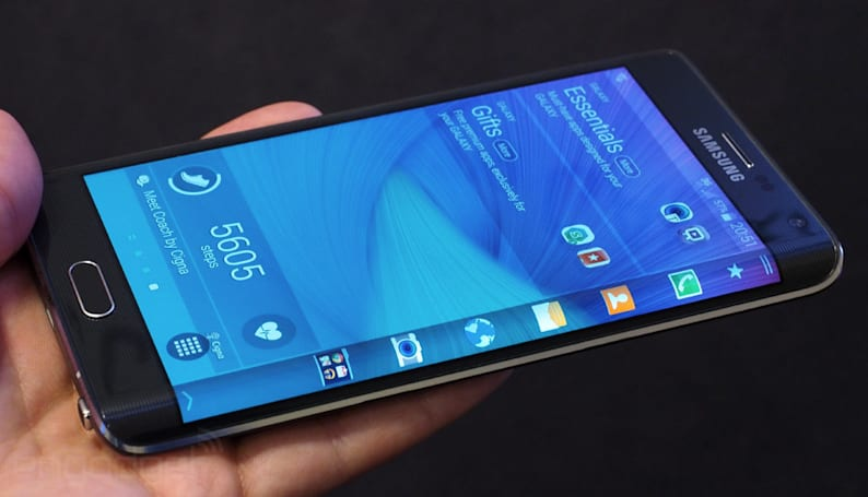 Samsung's curvy Galaxy Note Edge reaches the US November 14th