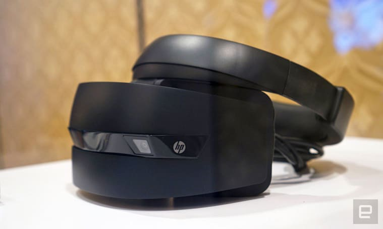 Check out the first Windows VR headsets from Dell, HP and Acer