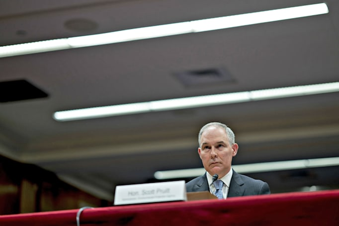 11 states sue EPA over attempt to reverse ban on ozone-harming HFCs