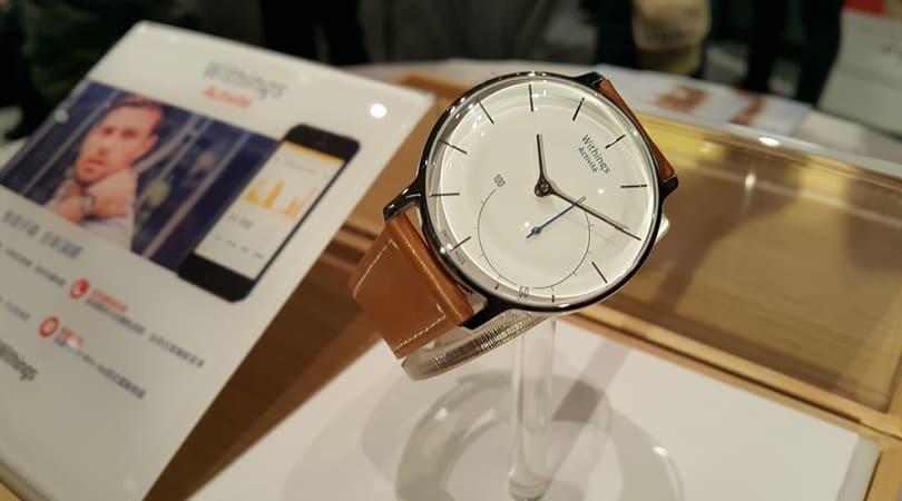 Withings 手表登陆香港,运动追踪器也有时尚优雅的选择