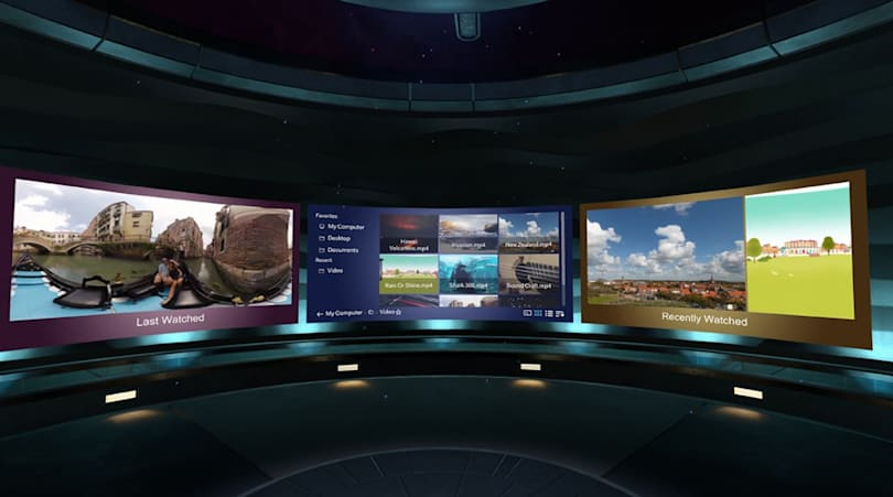Vive Video puts a personal home theater in HTC's VR headset