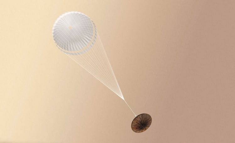 Doomed Mars lander wasn't equipped for supersonic conditions