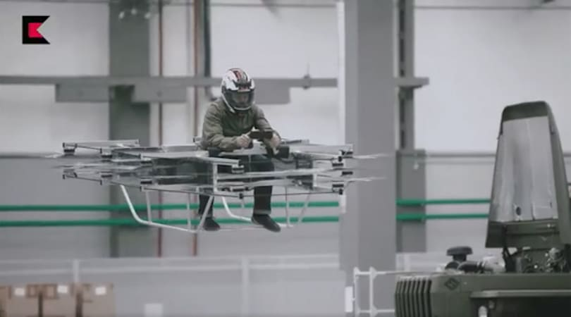 Kalashnikov's next military gear might be hoverbikes